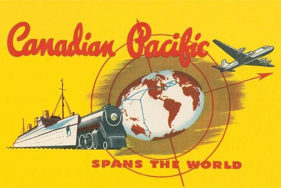 Image result for canadian pacific spans the world