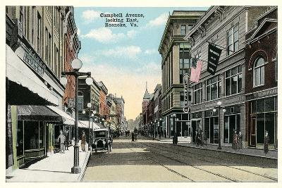 Vintage Downtown Roanoke