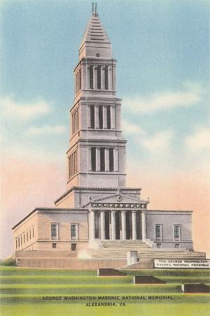 Washington Masonic Memorial, Alexandria