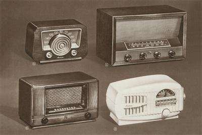 Four Table-Top Radios