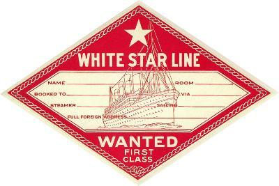 White Star Line Luggage Tag