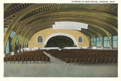 Auditorium Interior, Lakeside