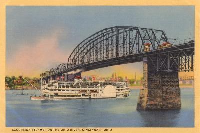 Bridge over Ohio River, Cincinnati