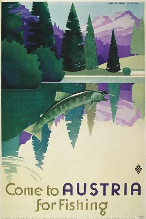 Come to Austria for Fishing