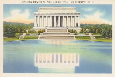 Lincoln Memorial and Mirror Pool