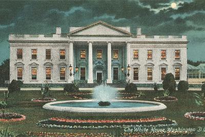 Old White House Illustration