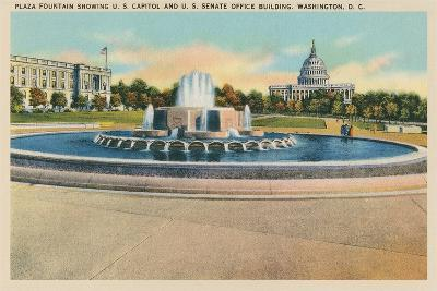 Plaza Fountain, Senate Office Building