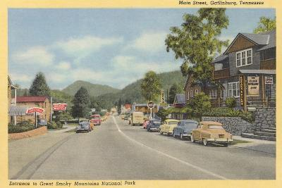 Early View of Gatlinburg