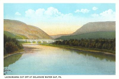Lacakawanna Cutoff, Delaware Water Gap