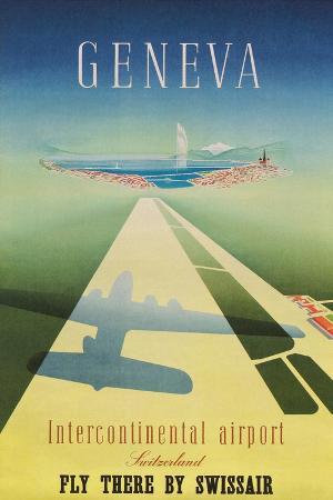 Geneva Travel Poster