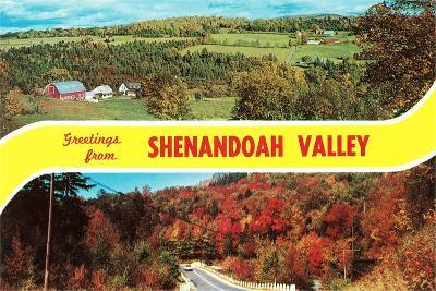 Greetings from Shenandoah Valley