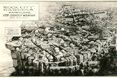 Rock City Gardens, Lookout Mountain