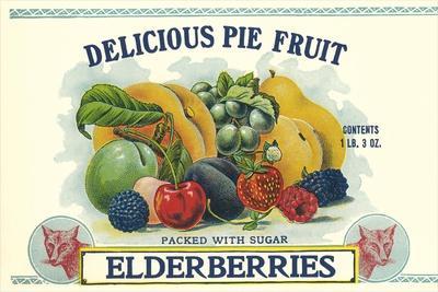 Elderberry Can Label