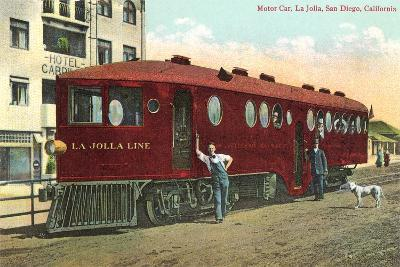 Motorized Train Car