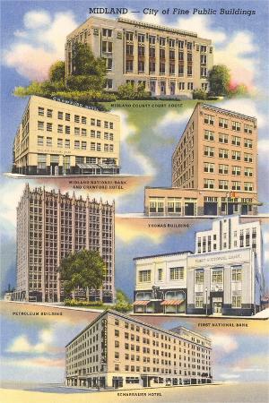 Buildings of Midland