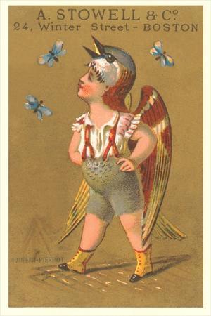 Child in Bird Suit