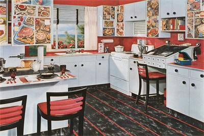 Kitchen with Desk