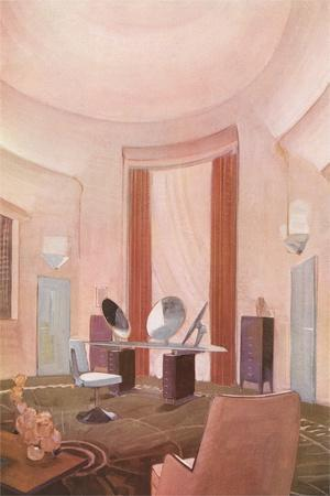 Pink Bedroom, Interior
