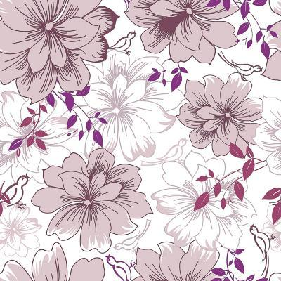 Abstract Elegance Floral Pattern