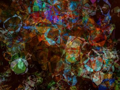 Multicolored Kaleidoscope Abstract Background