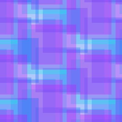 Abstract Blue and Lilac Pattern from Squares