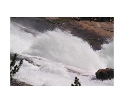 Waterwheel In Le Conte Falls