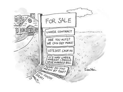 Captionless - New Yorker Cartoon