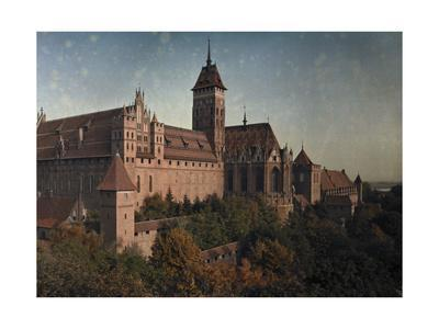 Schloss Marienburg Castle, the Most Significant of the Teutonic Order