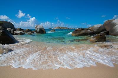 The Baths' Beach on Virgin Gorda