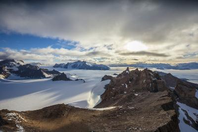 The Wohlthat Mountains in Antarctica's Queen Maud Land