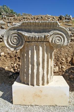 Column Capital, Letoon, Turkey