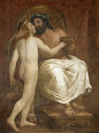 Jupiter Kissing Ganymede, 1760