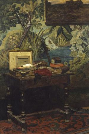 A Corner of the Studio, 1861