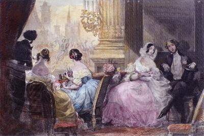 Scene from in Summer in Paris by Jules Janin, 1844