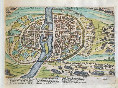 King Henry of Navarre Besieging Paris, August 1590