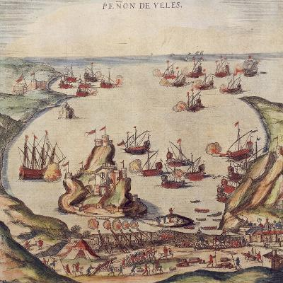 The Ottoman Corsair Khayr Al-Din Barbarossa Against Charles V's Army, 1535