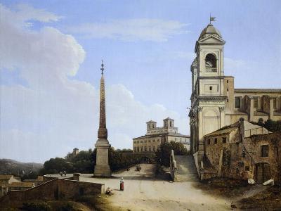 Trinita' Dei Monti and the French Academy, Rome