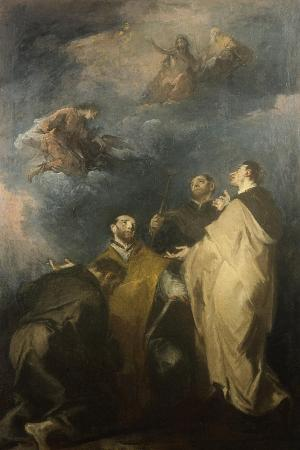 Trinity and the Saints, 1690-1769