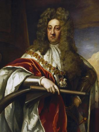 Portrait of George of Denmark and Norway