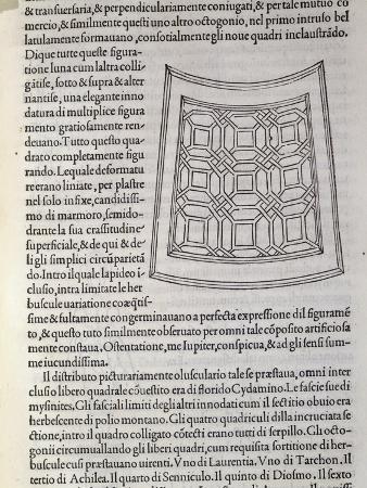 Hypnerotomachia Poliphili, Study for Garden, 1499