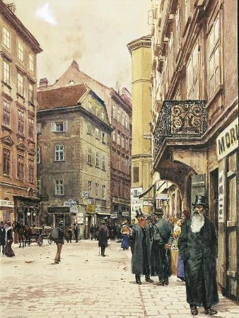 Vienna, the Jewish Quarter, 1905