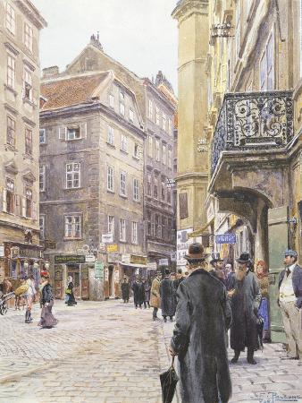 Austria, Vienna, Jewish Quarter in Vienna, 1906