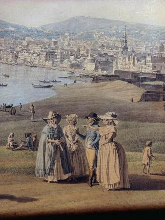 Naples from Magdalene Bridge, 1791