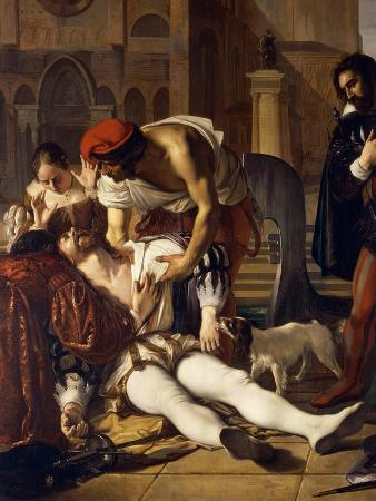 The Murder of Lorenzino De' Medici, 1840