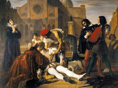 The Murder of Lorenzino De' Medici, 1840