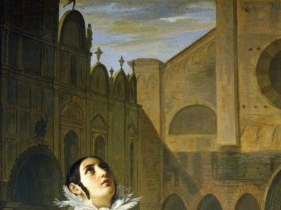The Murder of Lorenzino De' Medici, Detail, 1840