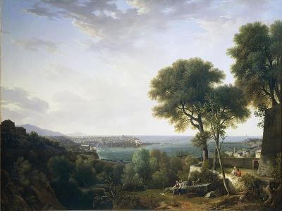 View of Port of Genoa