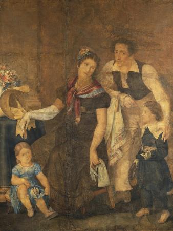 Portrait of the Ciardi Family