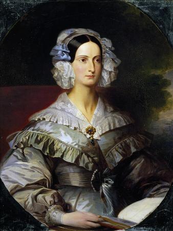 Portrait of Princess Marie of Orleans, 1839
