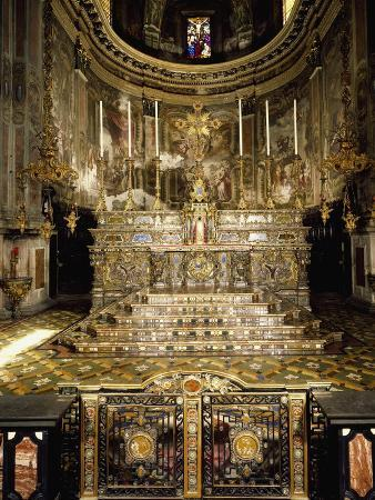 Italy, Milan, Church of St Alexander in Zebedia, High Altar